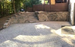 stone pavers and landscaping walls mansfield ohio